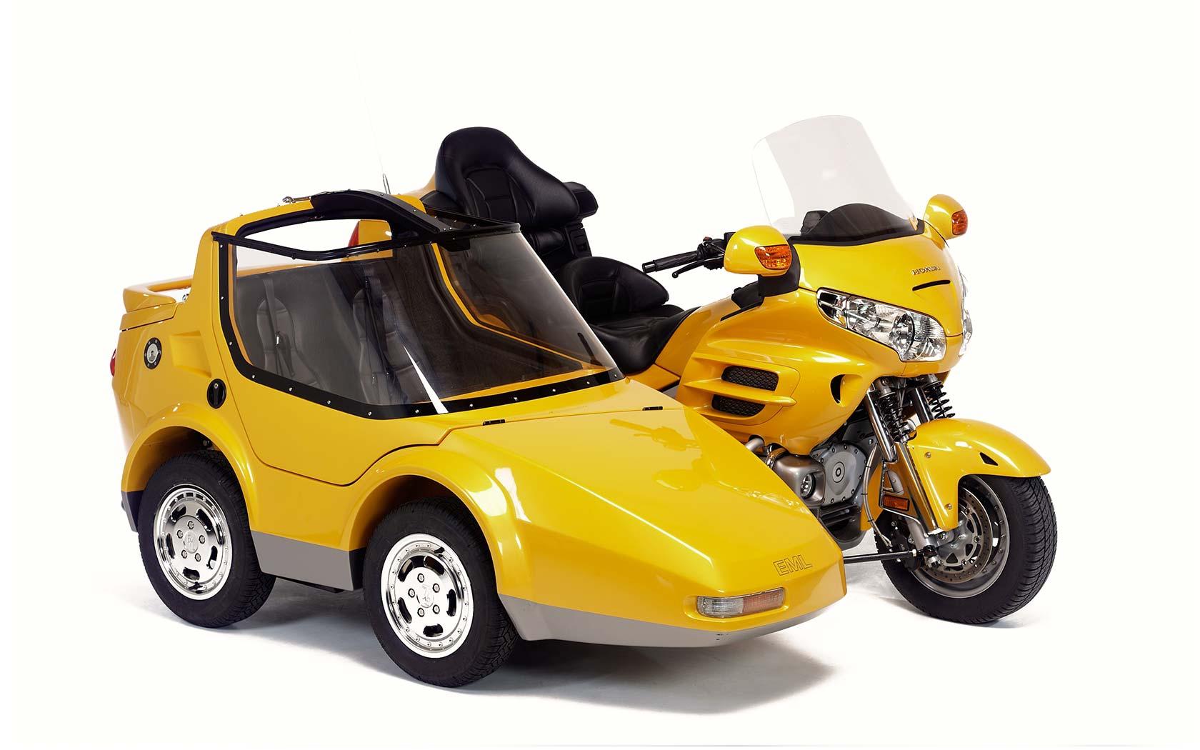 GT Twin - EML Trikes & Sidecars